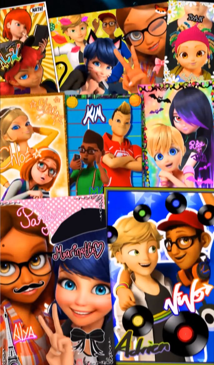 Theme song Character board
