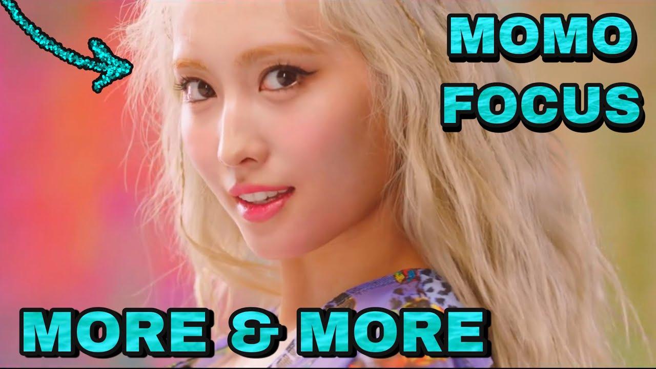 TWICE - MORE & MORE MV (Momo focus)