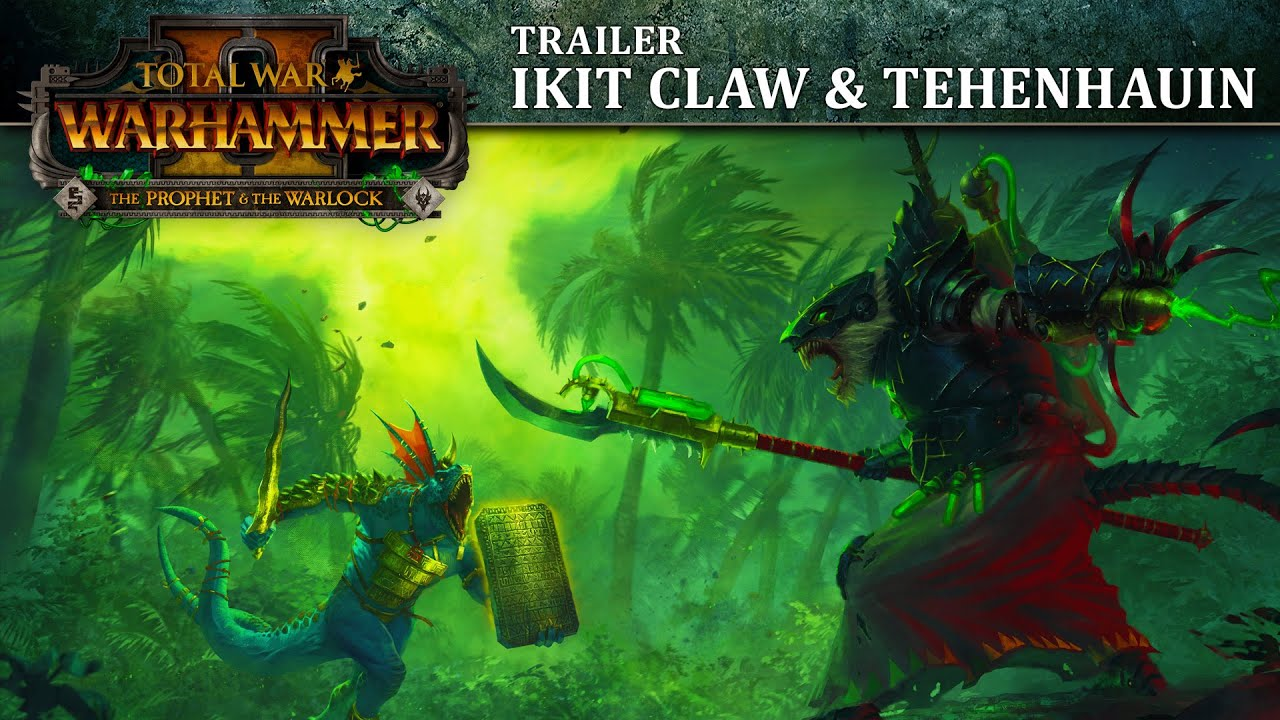 Total War: WARHAMMER 2 - The Prophet & The Warlock Trailer