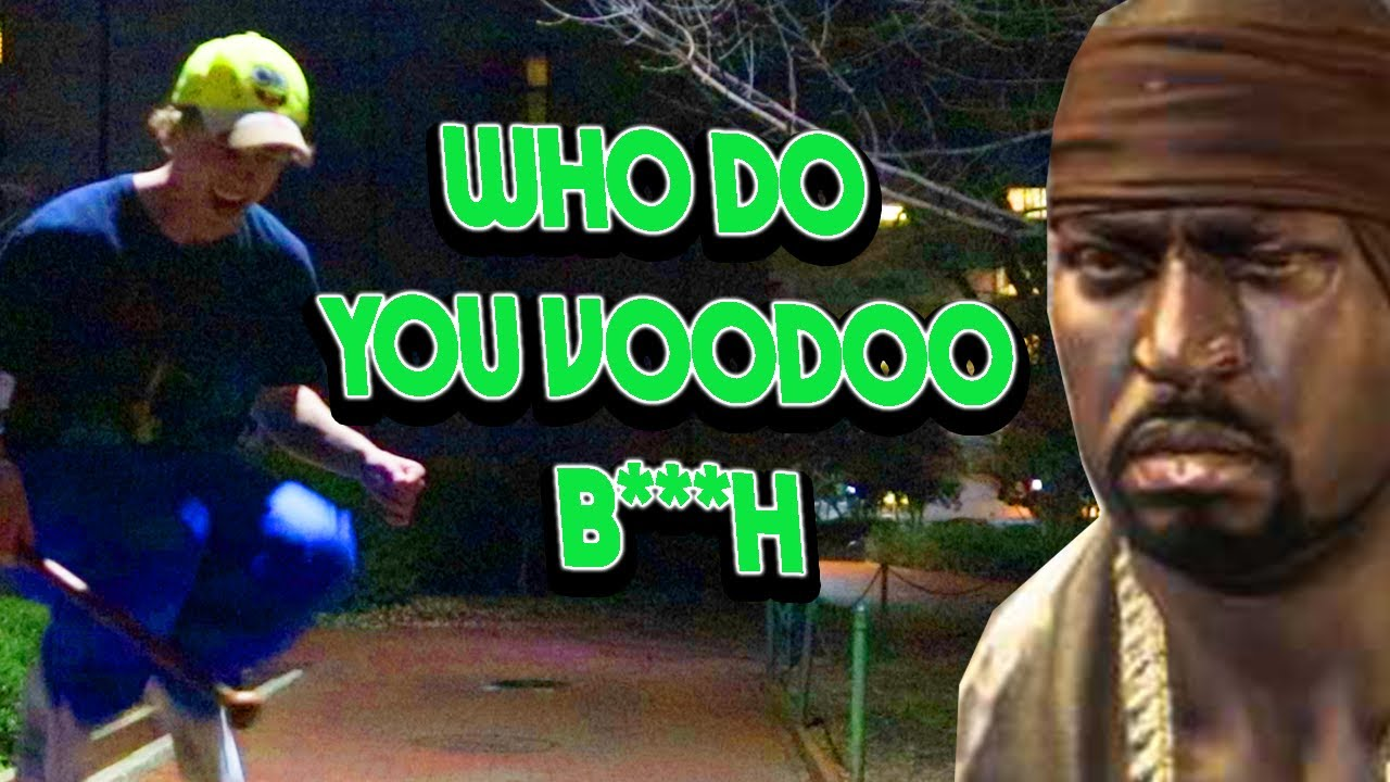 Who Do You Voodoo, B***h? [cover]