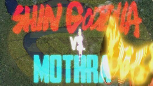 SHIN GODZILLA V MOTHRA - Teaser
