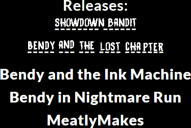 Possible Name For 2nd Bendy Game