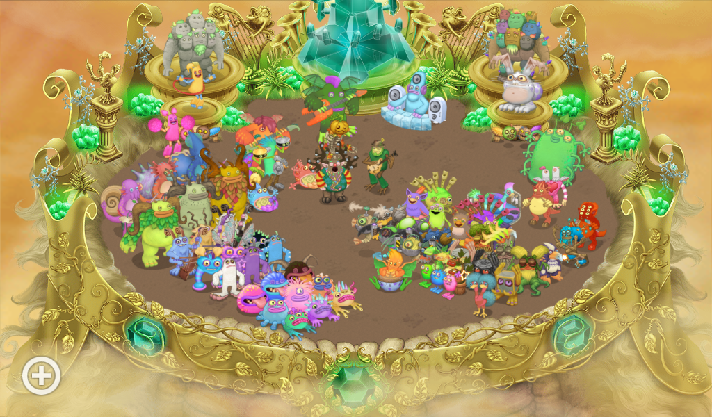 How dose my gold island look?
