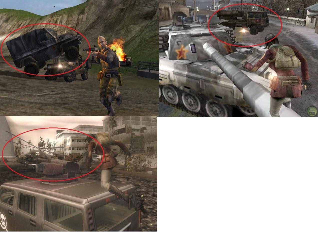 Beta / Alpha Unseen Vehicles