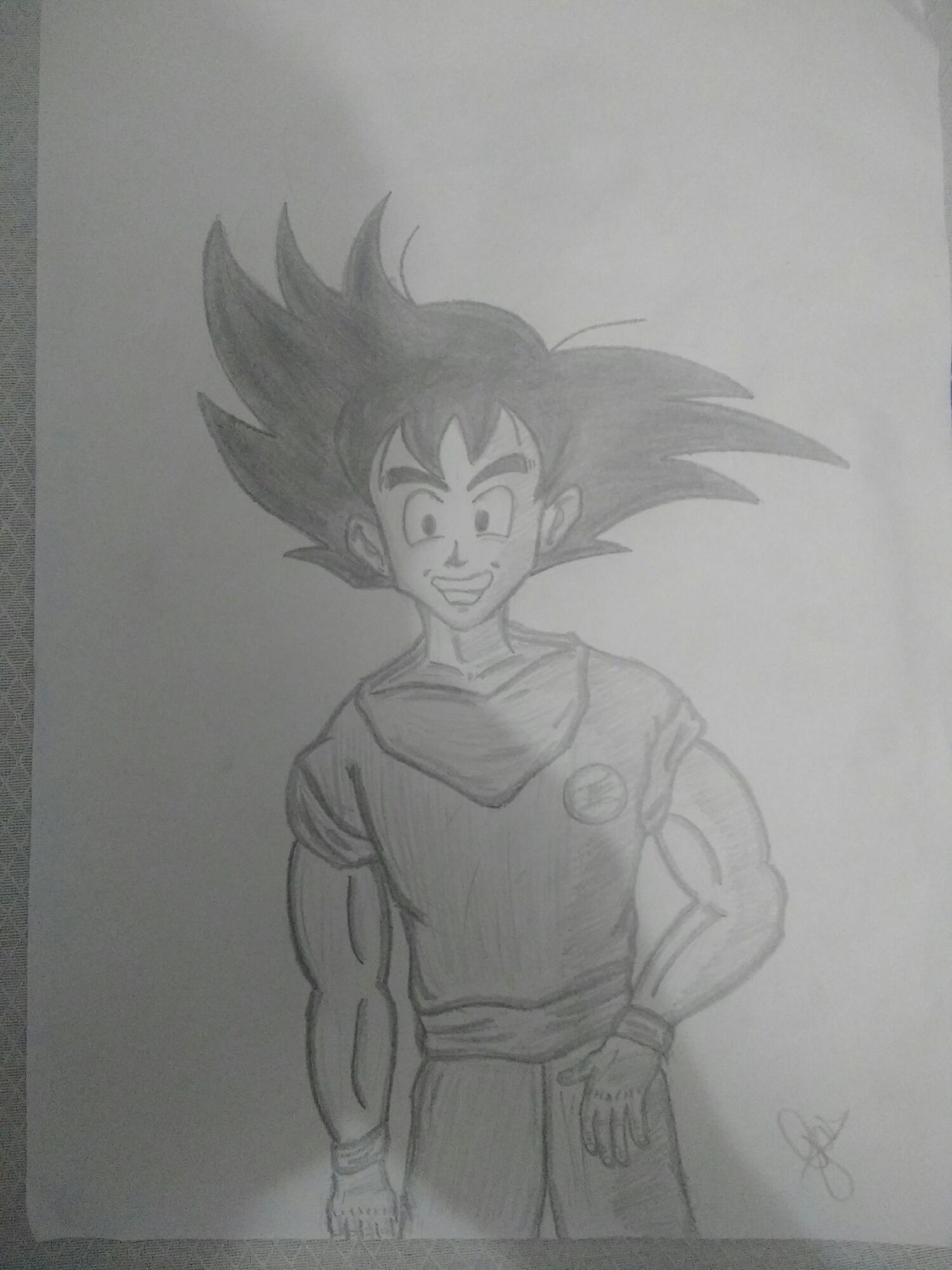Goku do final de Dragonball e início de DBZ