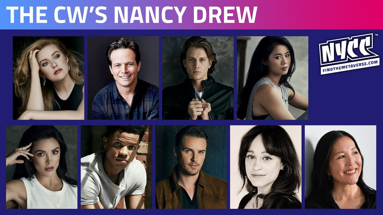 The CW's Nancy Drew- Featuring the Cast & Producers