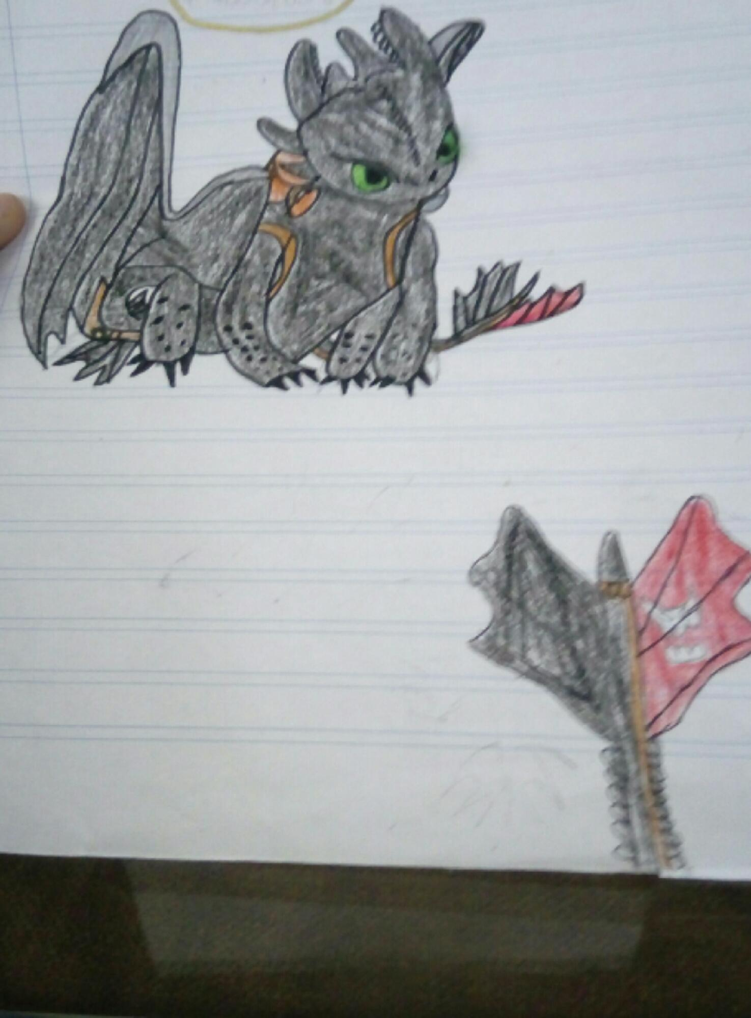 Dibujo a chimuelo (desdentao)
