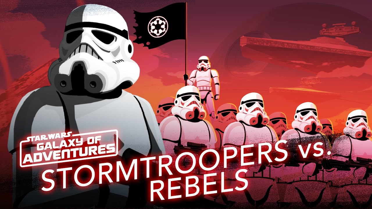 Stormtroopers vs. Rebels - Soldiers of the Galactic Empire | Star Wars Galaxy of Adventures