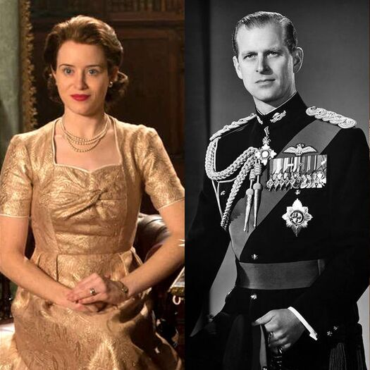 See the Cast of 'The Crown' vs. the People They Play in Real Life