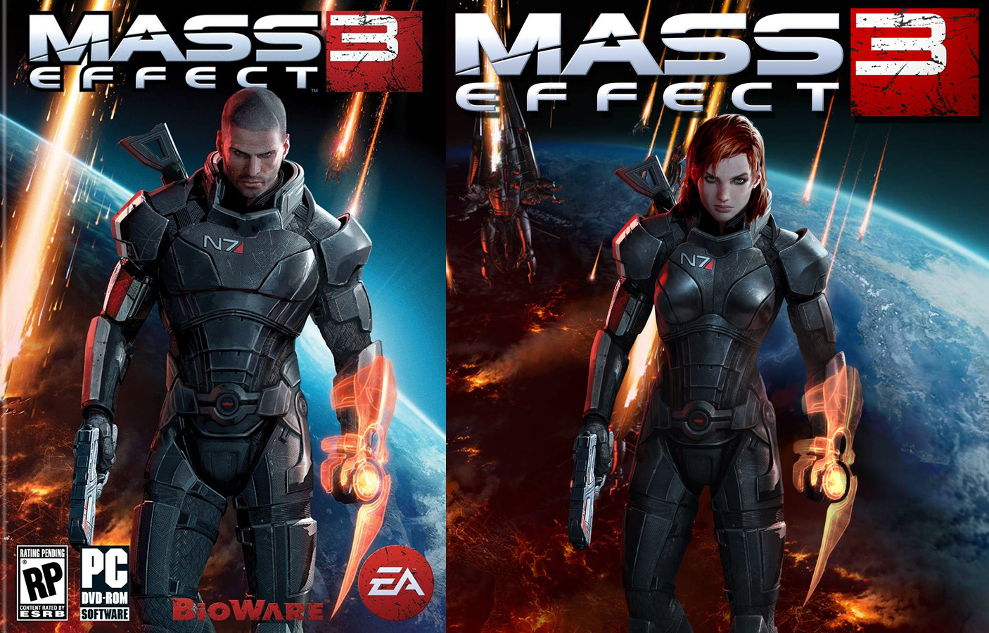 Dissapointing Male/FemShep appearance | FANDOM