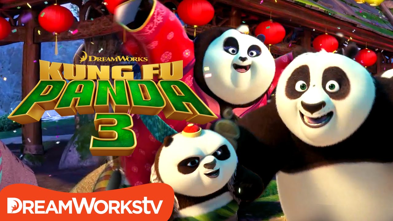 Po's Panda Party Music Video | KUNG FU PANDA 3