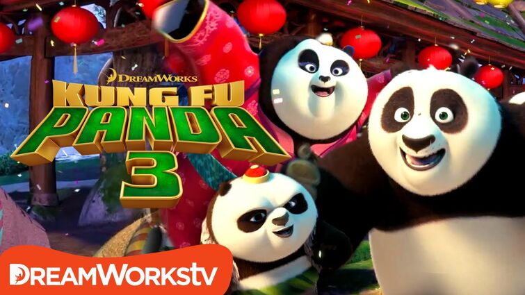 Po's Panda Party Music Video   KUNG FU PANDA 3