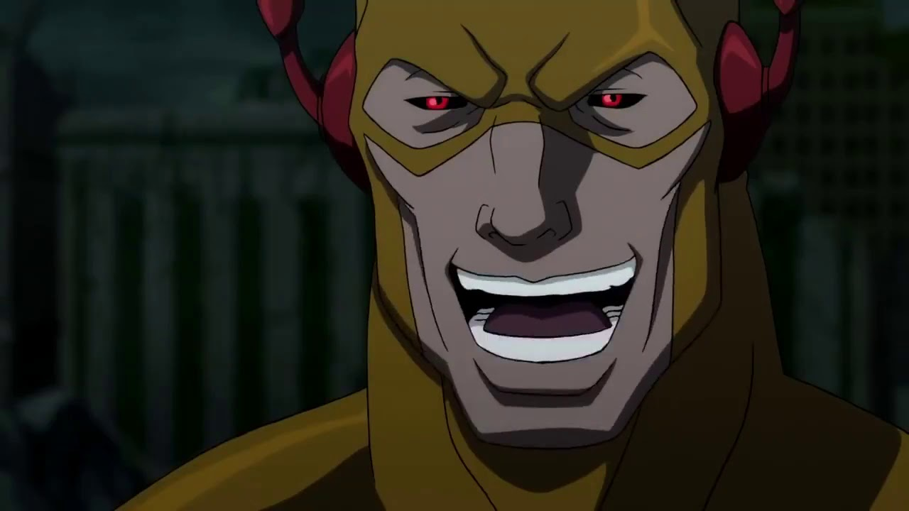 It was me Barry! (Reverse Flash hate boner)