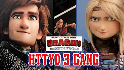 How To Train your Dragon character reveal! (not fake)