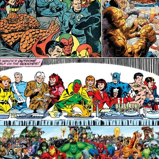 WARM WELCOME FROM THE MARVEL FAMILY 😀😀😁😁!!!!