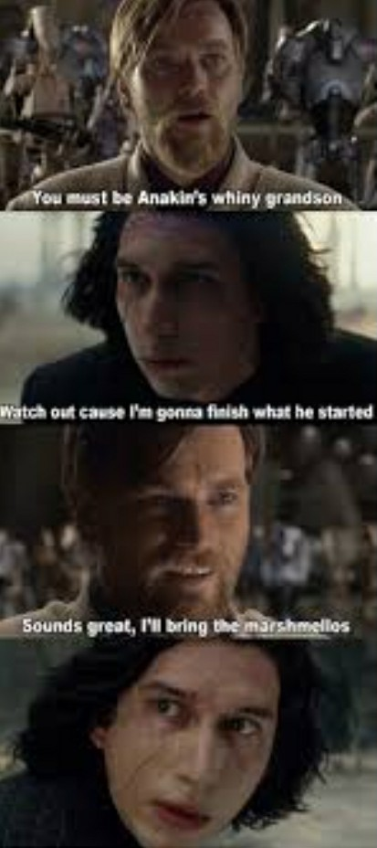 Anakin all over again.....LoL