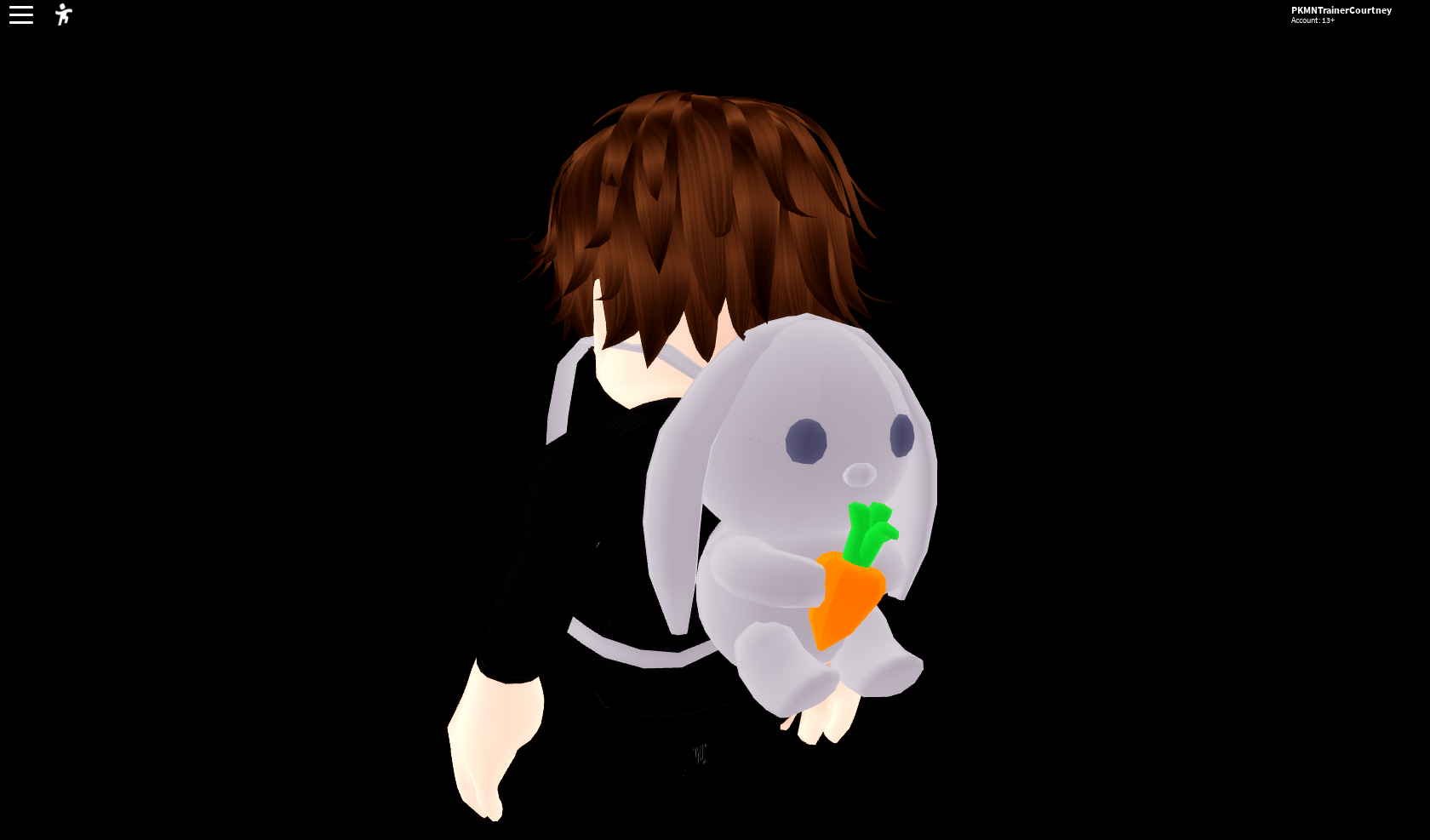 Roblox Backpack Closet Two Bunny Bags On A Short Character Fandom