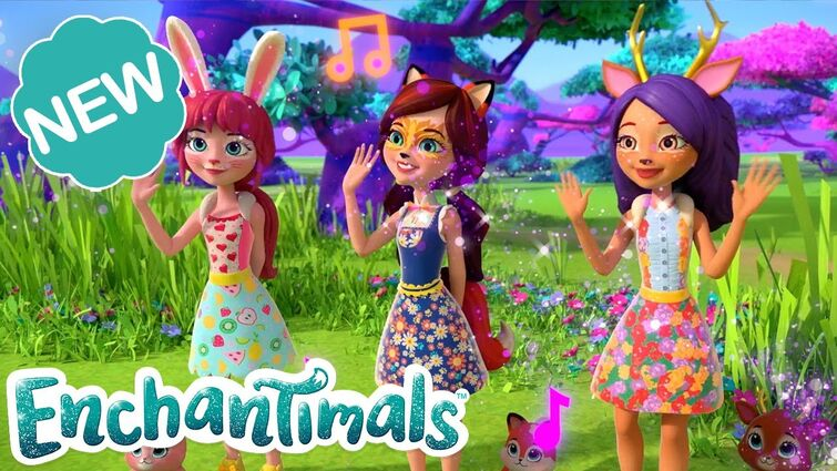 🎉 💖🎶We're Better Together In SUNNY SAVANNA! | Official Music Video! | Enchantimals