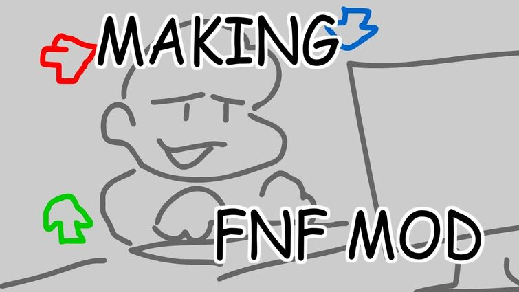 Watch me make an FNF Mod Pack real quick. like with code and stuff