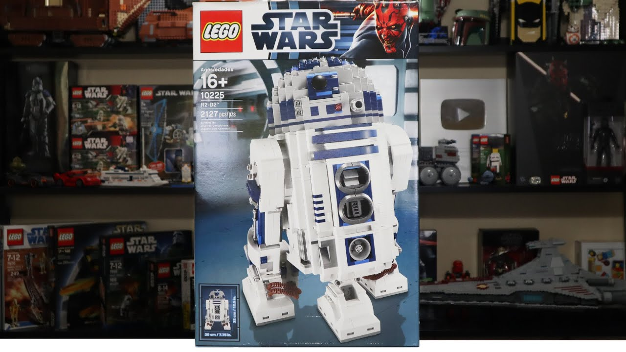 LEGO Star Wars 10225 UCS R2-D2 Review! (2012)
