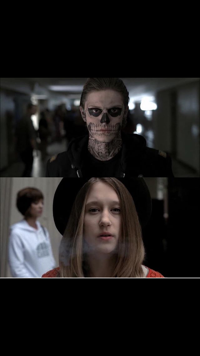 Tate and Violet existence after apocalypse