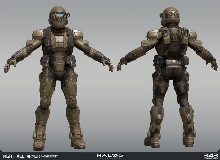 Halo 5 Nightfall  armor