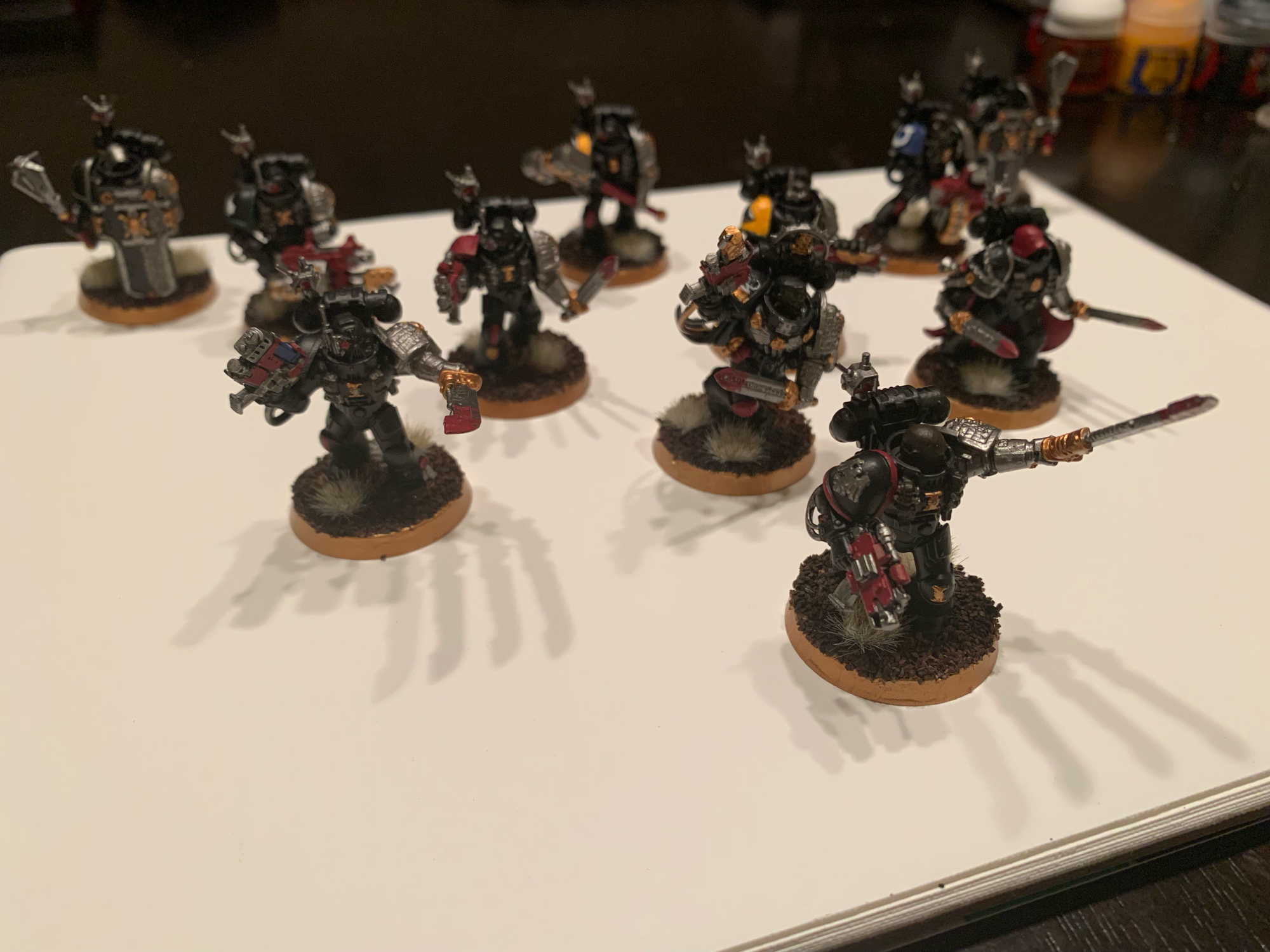 Newly painted Deathwatch!