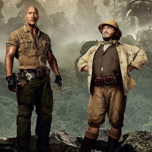 Jumanji 2 Character Posters Welcome 4 New Players to the Jungle