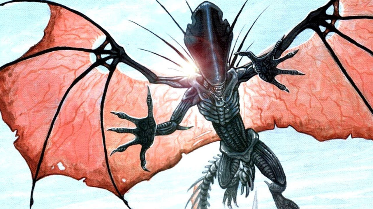10 Xenomorph Aliens from the Expanded Universe!