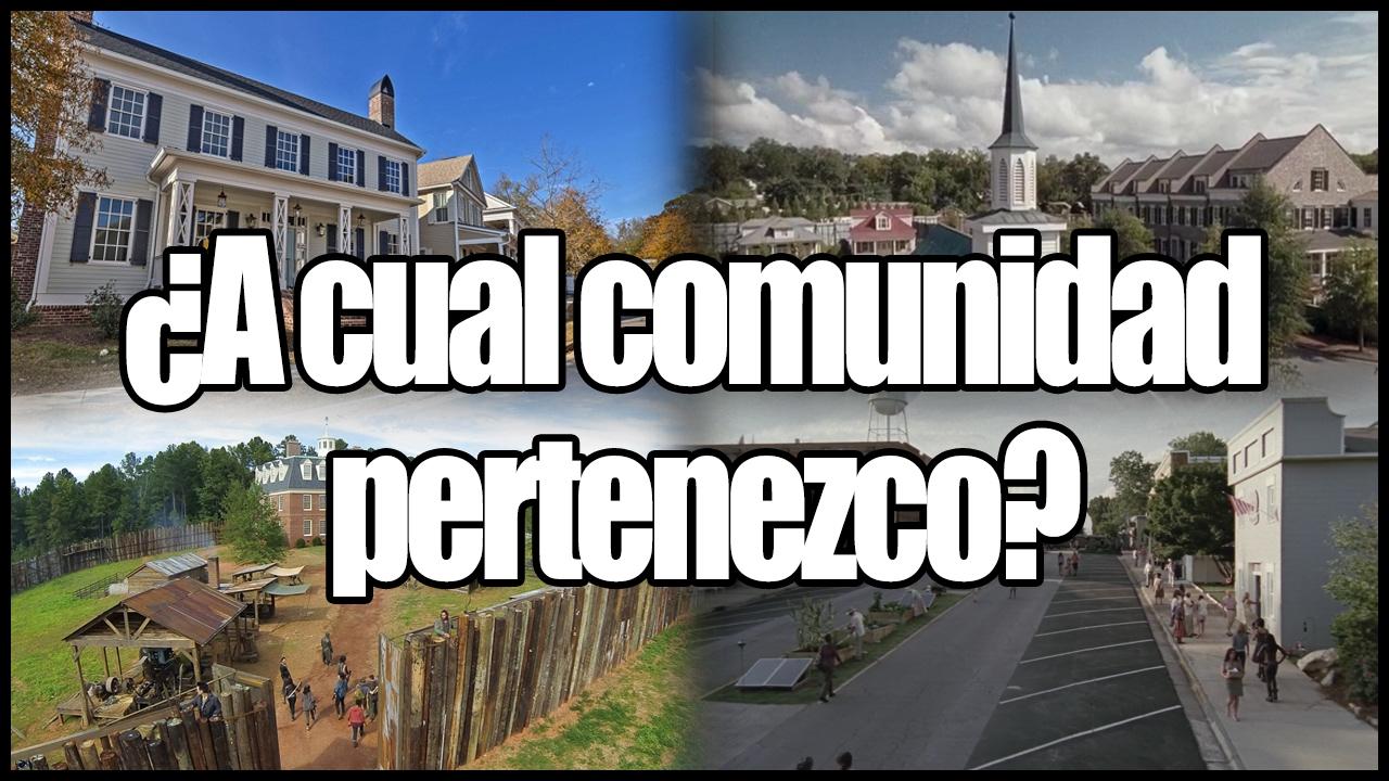 A q comunidad perteneces