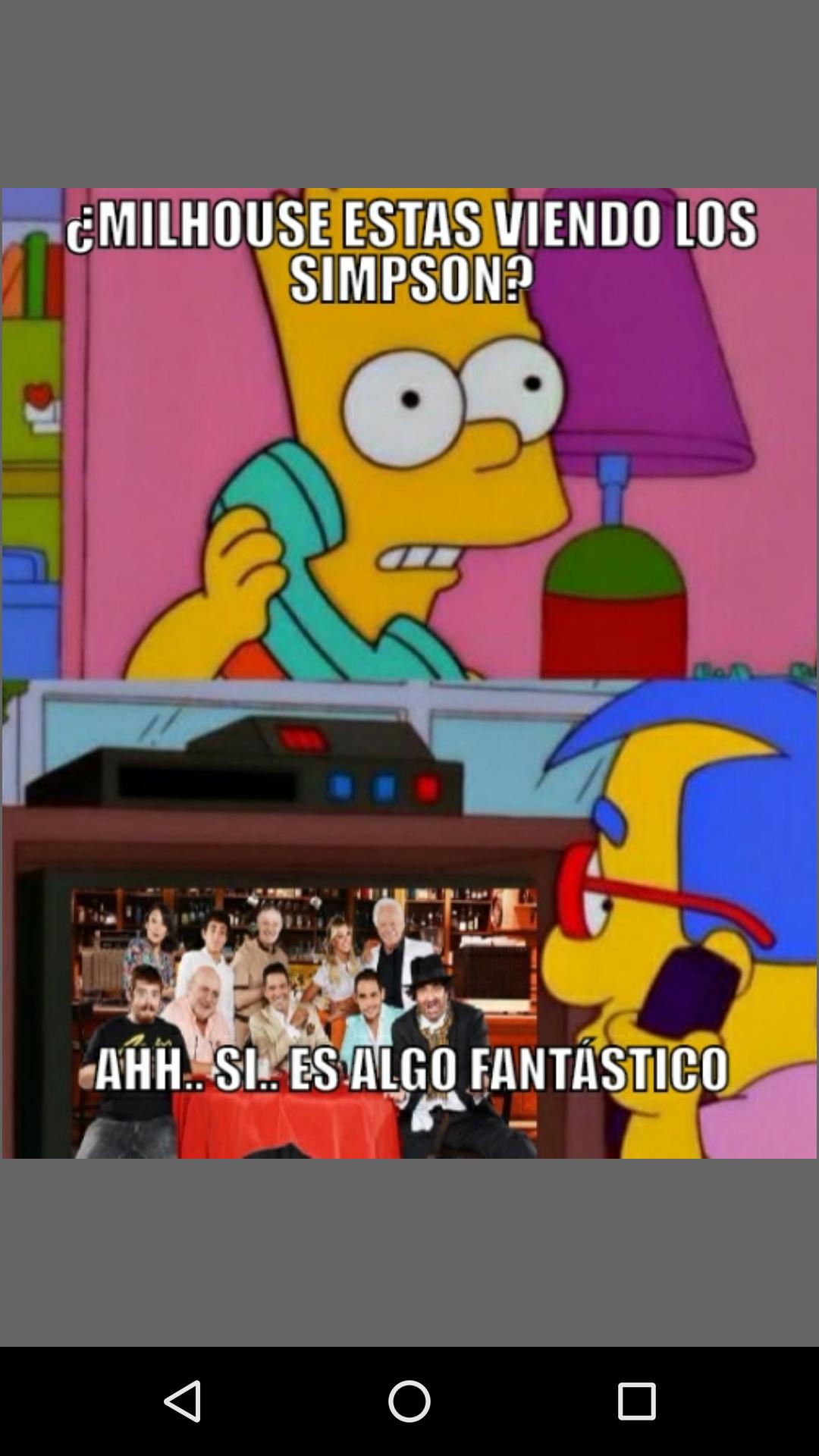 Como olvidar cuando los Simpson rompieron la cuarta pared ...