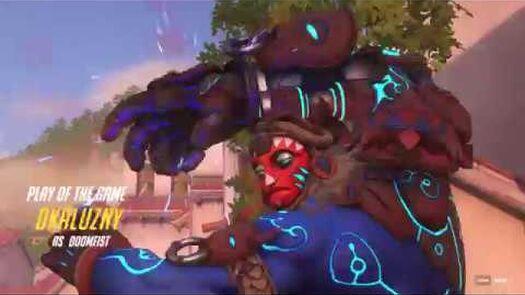 Doomfist zabija 3 osoby