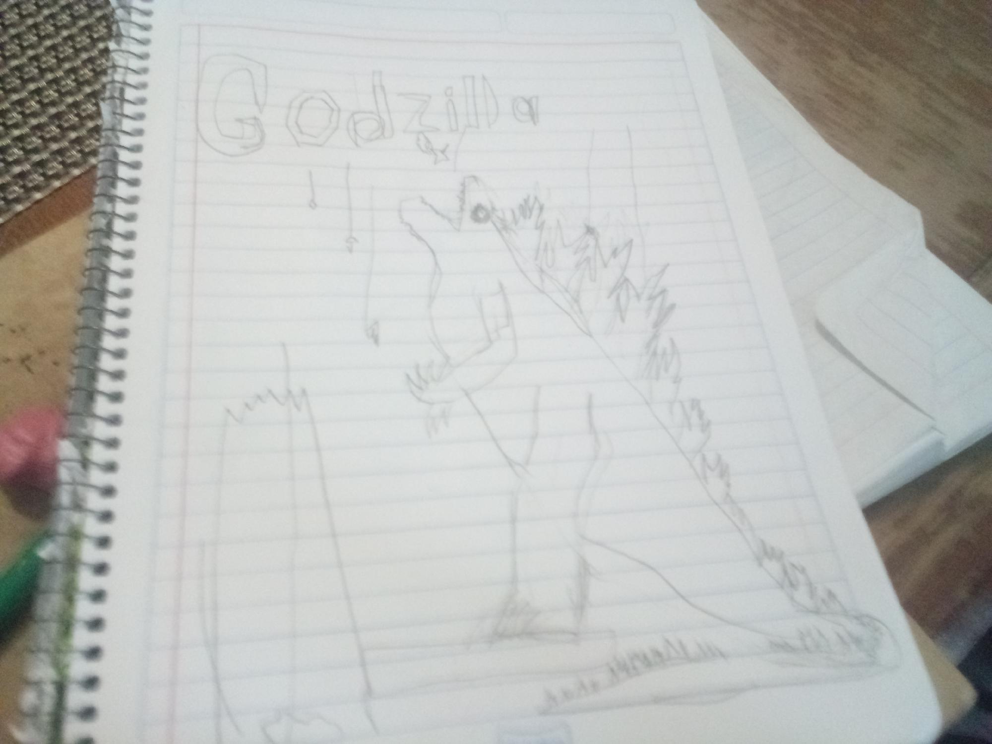 Godzilla inventado