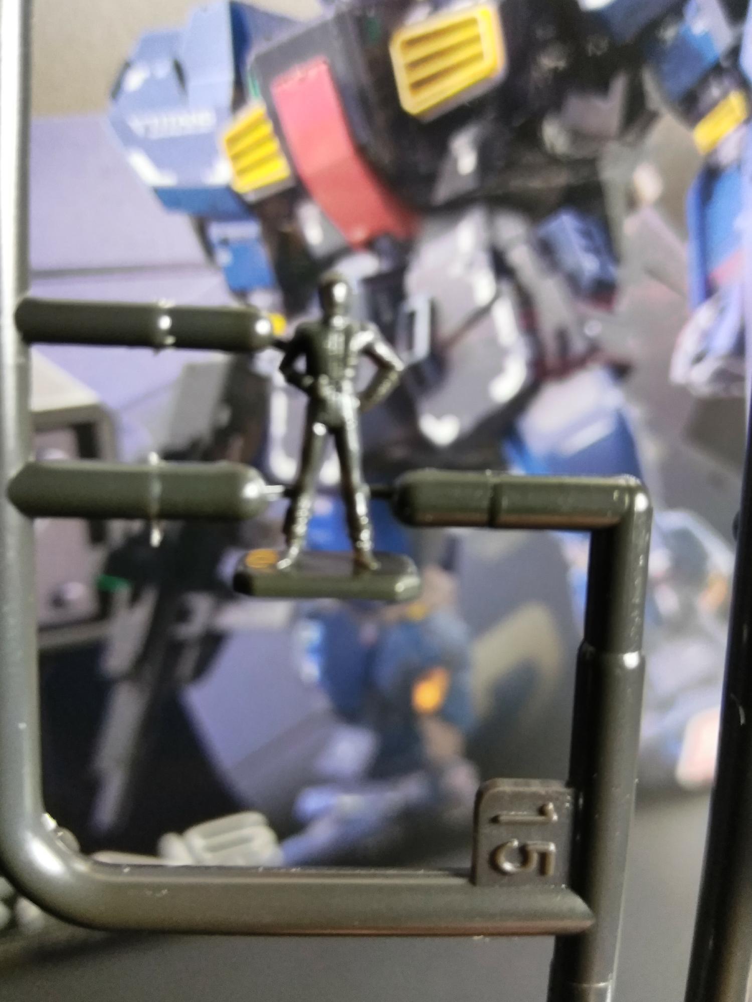 RG GUNDAM Pilots