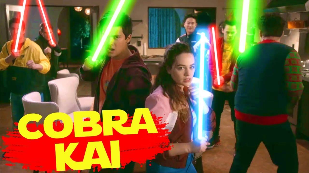 Cobra Kai w/Lightsabers!