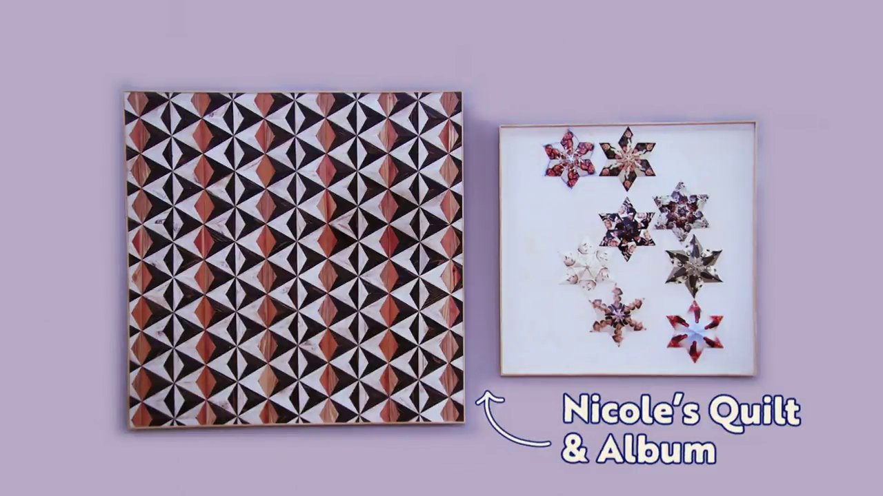 Nicole's Quilt and Album