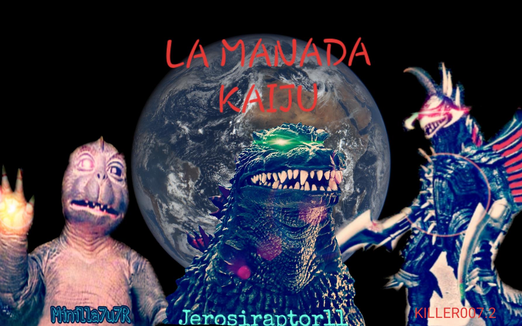 LA MANADA KAIJU