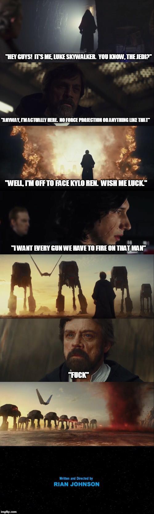 The Last Jedi: Alternate version