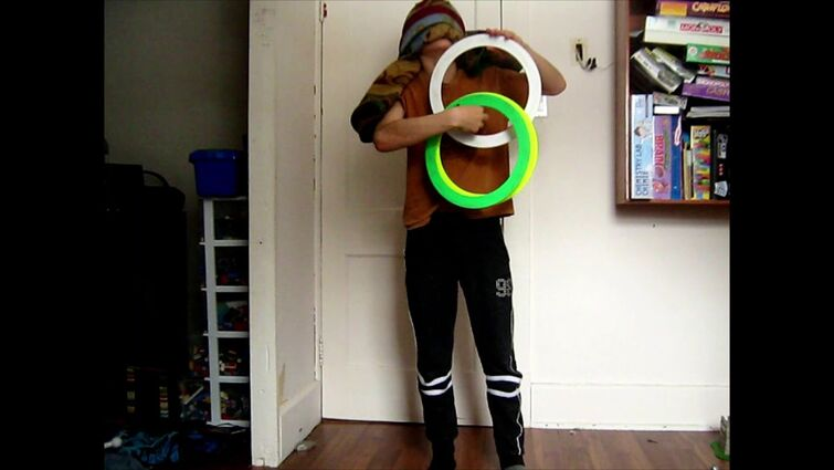 4 ring blind juggling 8 catches