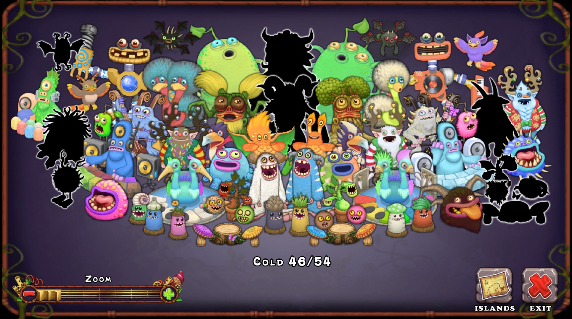 All Rare On Cold Island Collection Book!