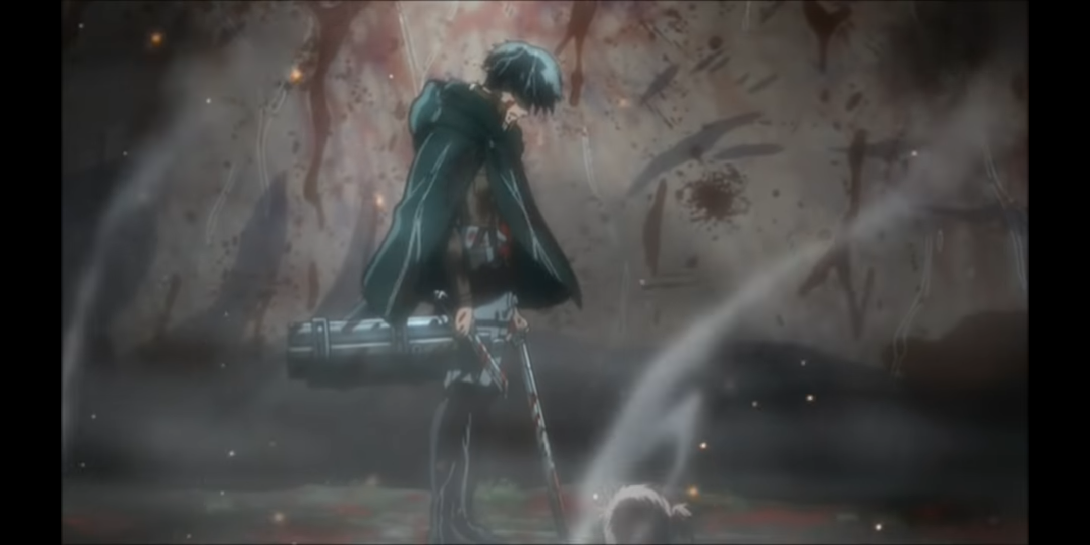 The first time I saw Levi crying