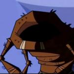 Hombre cucaracha sin cabeza