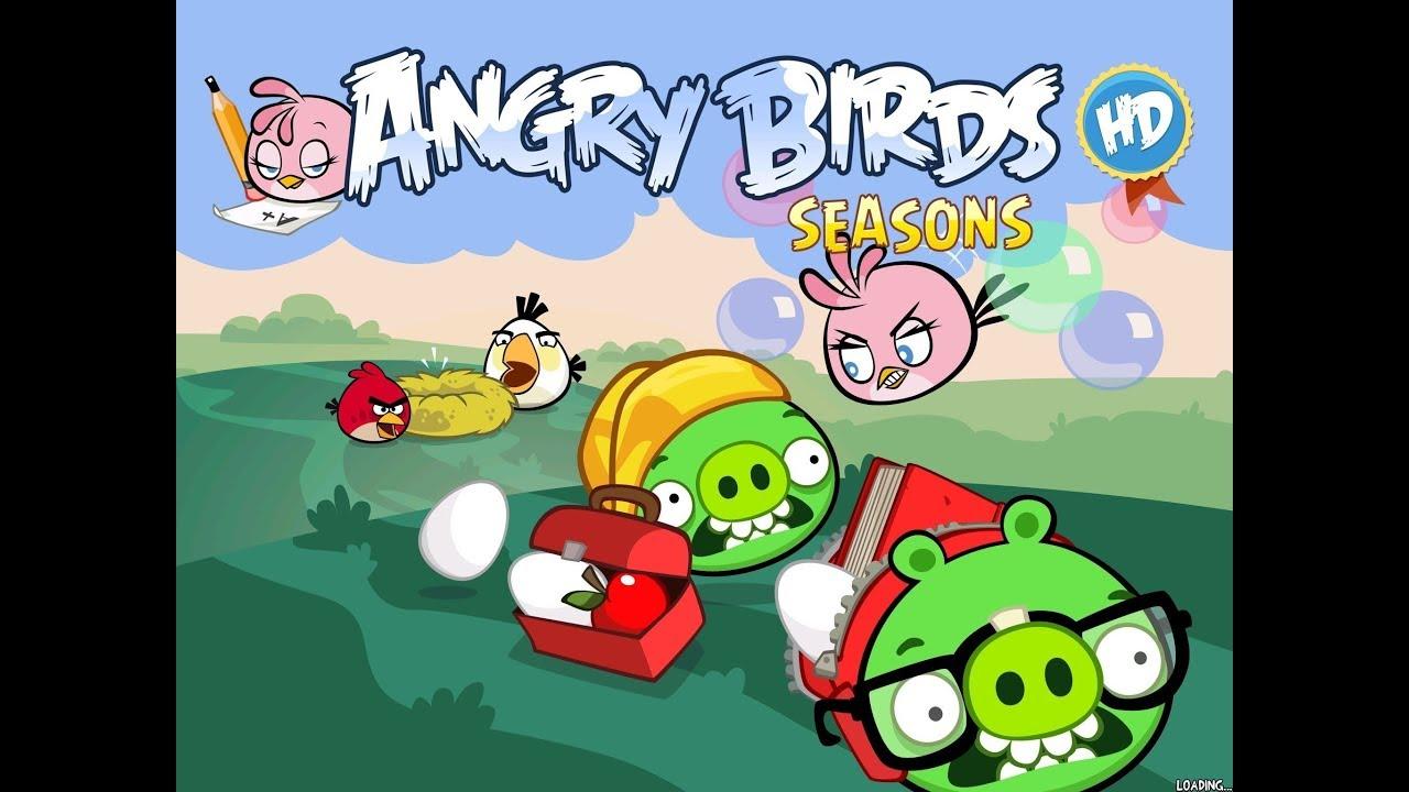 Back to School Angry Birds Seasons | Angry Birds Stores | Мистериум