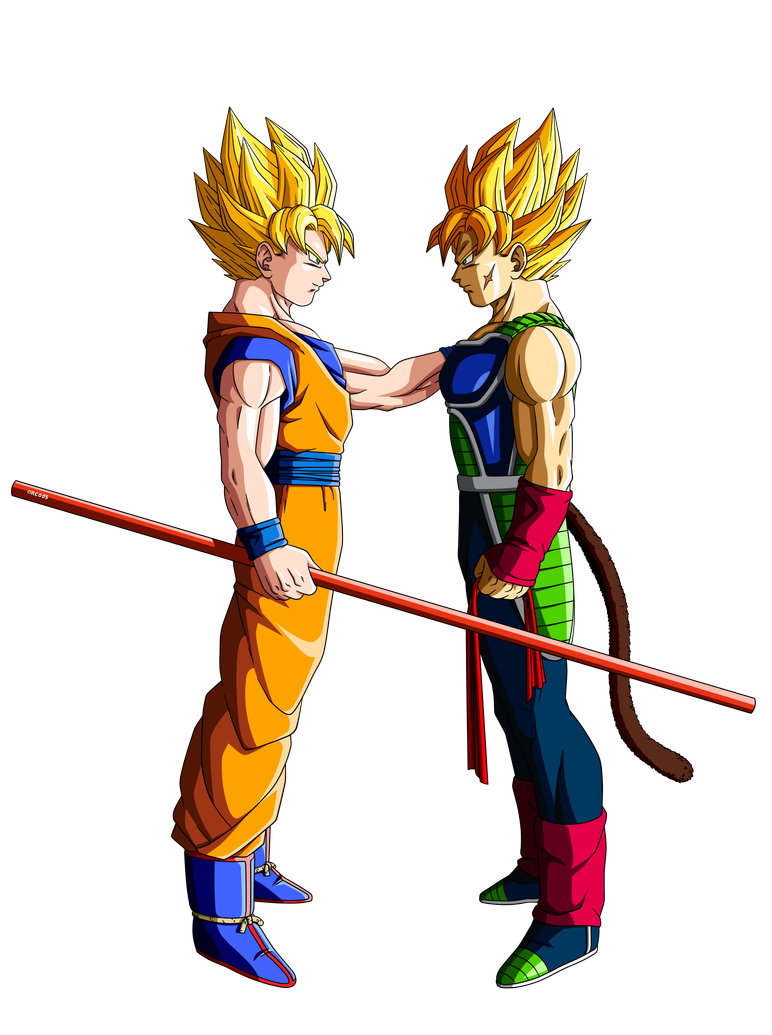 What if Goku meets his father Bardock
