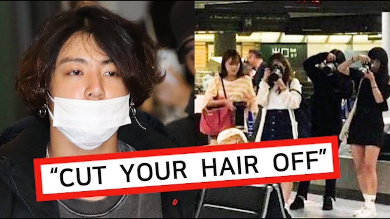 Jungkook's Hairstyle in Controversy, His message to his Fanatic Fans