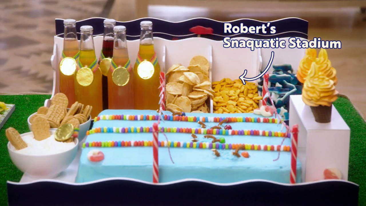 Robert's final snaquatic stadium