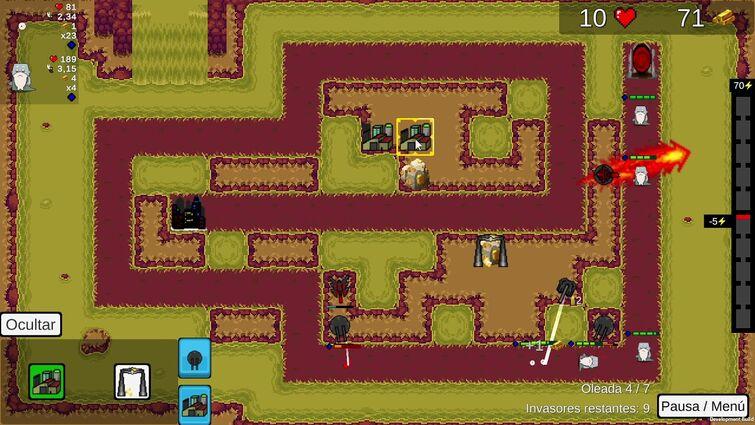 Cthulhu Tower Defense - V 0.5 Alpha - Gameplay Región 5