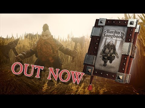 """Bardin"" - The Song Book - OUT NOW!"