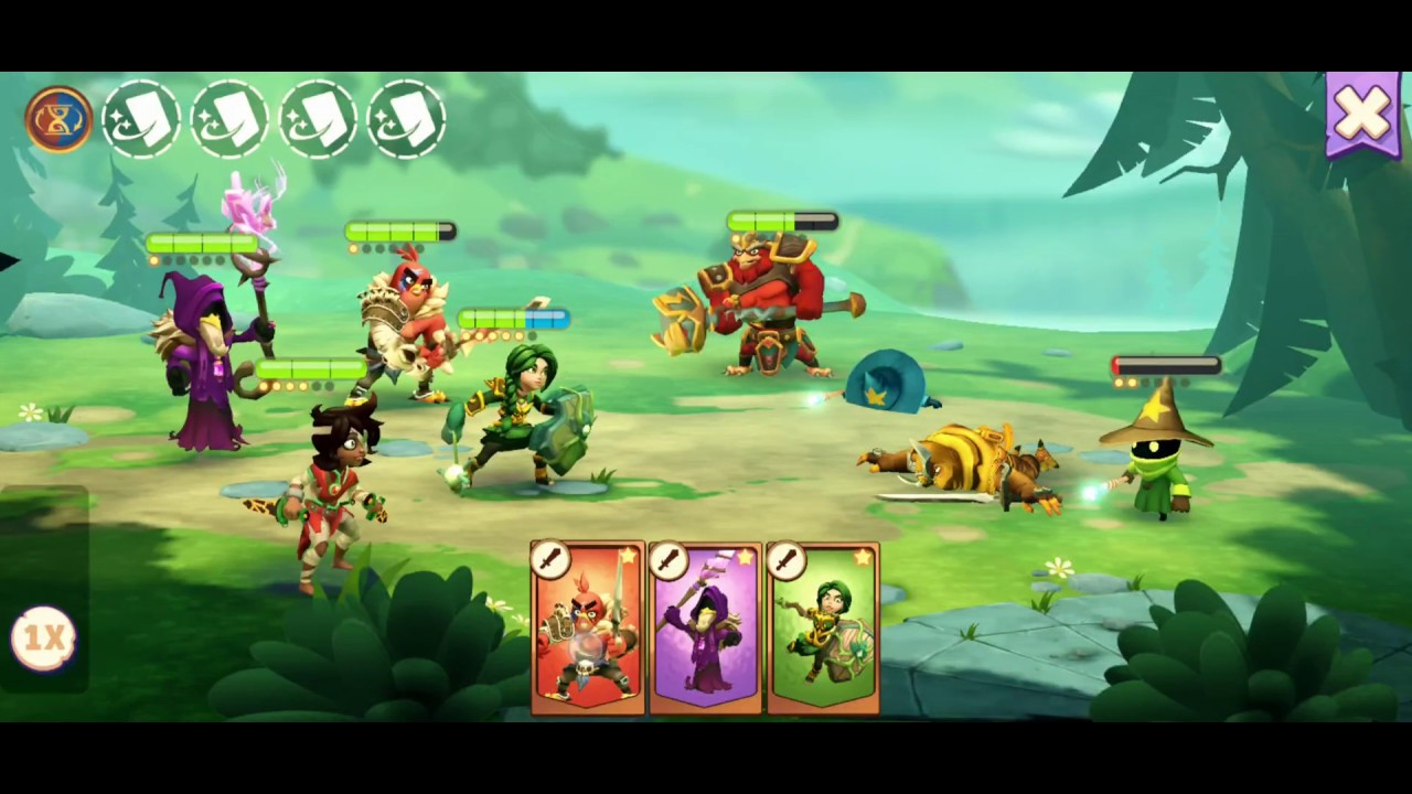 Angry Birds Legends gameplay