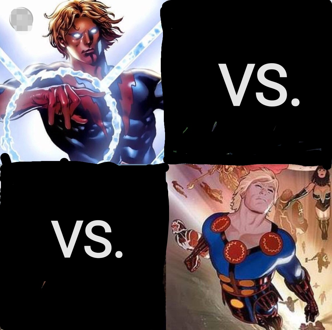 Who would win? Ikaris or Adam Warlock? K. O.  Battle (if this battle has already been made pls tell)
